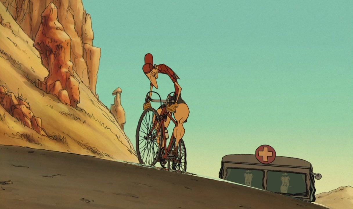 Assista o filme de animação as bicicletas belleville