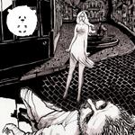 Mais uma aparição da Loira Fantasma de Curitiba (em Quadrinhos)