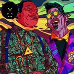 O Jazz e o movimento Bebop na arte de Olivier Bonhomme!
