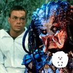 Quando O Predador foi Van Damme vestido de louva-deus vermelho